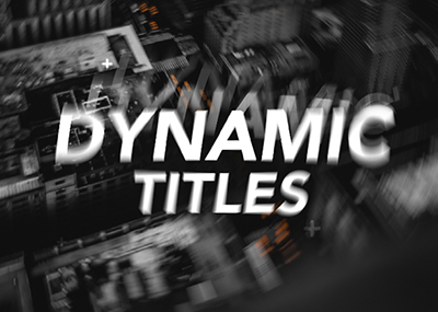 Dynamic Titles